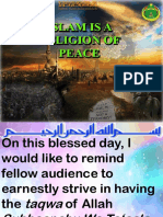 Multimedia English 19.01.2018 Islam is a Religion of Peace