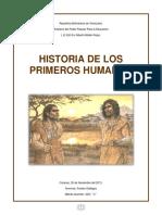 Los Primeros Humanos