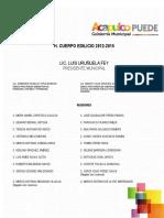 Plan Director de Desarrollo Urbano 2015