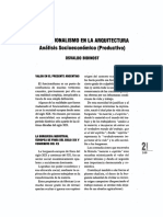 El Funcionalismo en La Arquitectura-osvaldo Bidinost