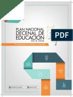 plan nacional decenal de educacion 2da edicion 271117