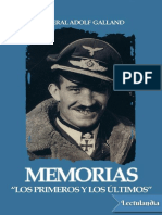 Memorias - Adolf Galland