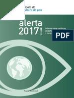 Informe Sobre Conflictos, Derechos Humanos y Construcción de Paz_ALERTA 2017