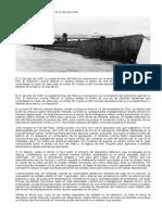 U530 Se Rinde en Mar Del Plata El 10 de Julio 1945