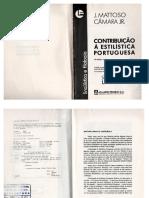 Livro Contribuição a Estilística Portugues- Matoso Câmara Júnior.pdf