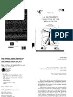 La Matemática Como Una de Las Bellas Artes - Pablo Amster