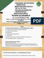 Tema6 La Estructura Del Mercado y La Determinación Del Precio