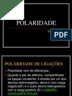 Polaridade de Ligações