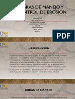 Unidad 3 Tarea 5 Libro Electronico  (obras de manejo y control de la erosión