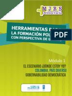 Undp Co FormacionPolPerspectivaGéneroMódulo1 2016