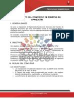 Concurso de Spaguetti PDF