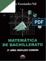 Wálter Fernández Val - Matemática de Bachillerato - 2º Año - Núcleo Común