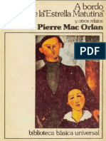 A Bordo de La Estrella Matutina y Otros Relatos - Pierre Mac Orlan