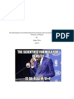 density and concentration of salt solutions lab report pdf