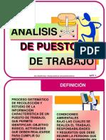 Analisis de Pto de W