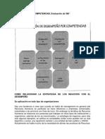 Desempeño Por Competencia, Evaluacion 360- Martha Alles
