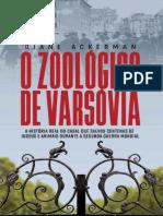 O Zoológico de Varsóvia Diane Ackerman