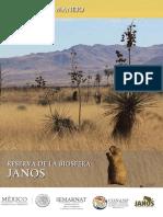 Parque nacional reserva de la biosfera, Janos, Chihuahua