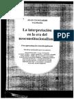 Seoane, José Antonio en La Interpretación en La Era Del Neoconstitucionalismo