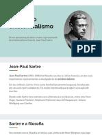 Sartre e o Existencialismo - Apresentação