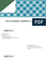field placement scrapbook 3 morgan cardin