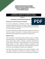 ADQUISICIÓN Y DISPOSICIÓN DE BIENES DEL ESTADO PROCURADORIA GENERAL DE LA NACION DE GUATEMALA
