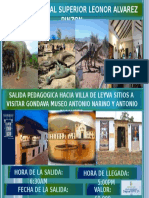 Cartel Villa de Leyva 2018