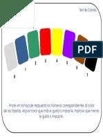 Test- Colores- Pressentación y Hoja de Respuestas - Oct-2013.pptx