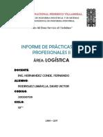 Informe Prácticas PRE
