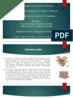 4.3 Criterios de Diseño de Embalaje
