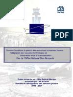 Cas de l'Office National Des Aéroports