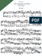Liszt-Bach - Prelude and Fugue in e Minor