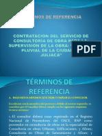 Terminos de Referencia Supervision Drenaje