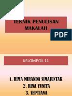 B I - TEKNIK PENULISAN MAKALAH.pptx