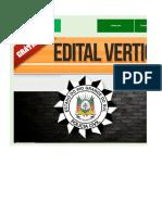 Edital Verticalizado - PC RS - Delegado
