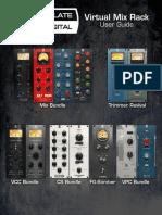 Slate Digital Virtual Mix Rack - User Guide