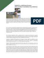 Las Versiones AASHTO y ASTM Del Proctor Modificado Pueden Producir Resultados Muy Distintos