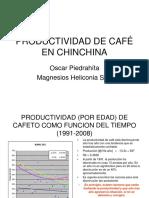 PRODUCTIVIDAD DE CAFÉ EN CHINCHINA