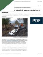 2015 04 29 - El Pais - Agua, barro y polvo- más allá de lo que arrastró el río en Atacama