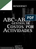 ABC - ABM Gestión de Costos Por Actividades - Eduardo Bendersky