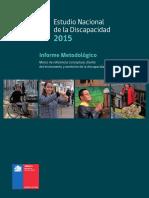 Informe Metodologico Estudio Nacional de La Discapacidad