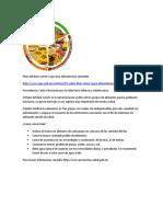 Noticia 2014-04-28 Recomendaciones Alimentacion