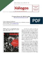 artigo acadêmico golpe no Brasil