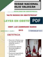 Tema 2.- Leyes en Obstetricia
