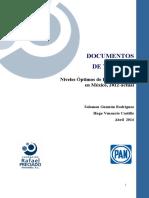 Deuda Pública 2012-2015 Pan