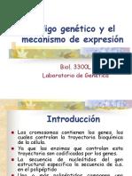 4 Codigo Genetico y Su Mecanismo de Expresion