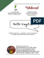 Hello English - Manual