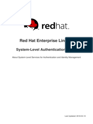 Red Hat Enterprise Linux 7 System Level Authentication Guide en US