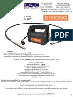 Vibrator Pentru Beton Strong2