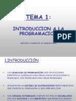 Tema 0 Introduccion a La Programacion